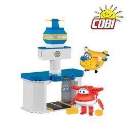 코비 COBI 슈퍼윙스 호기도니 공항세트 25132