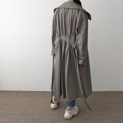 Florence Shirring Trench Jacket