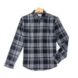 블랙 피치기모 긴팔남방 셔츠RFC10201