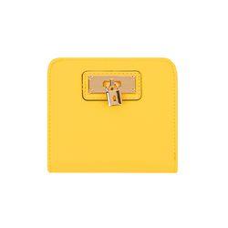 미니 자물쇠 반지갑 옐로우(AG2H7101DRYY)