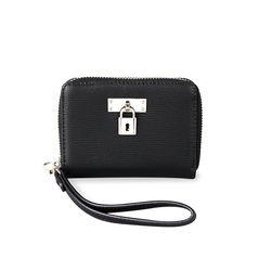자물쇠 반지갑 블랙(AG2H8304DABB)