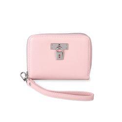자물쇠 반지갑 핑크(AG2H8304DAPP)