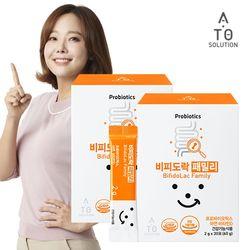 에이토솔루션 패밀리 프로바이오틱스 유산균 2박스 (60포)