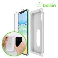 벨킨 아이폰11 인비지 울트라 강화유리 액정보호 필름 F8W942zz