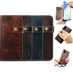 아이폰 가죽 카드 수납 지갑형 스트랩 휴대폰 케이스