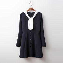 Sera Tie Mini Dress