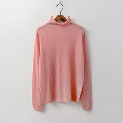 Mohair Wool Turtleneck Knit