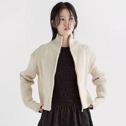 woolen reglan zip-up (2colors)