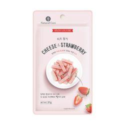 네츄럴코어 치즈&브림 딸기 27g