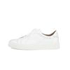 REAL LEATHER LOW TOP WHITE