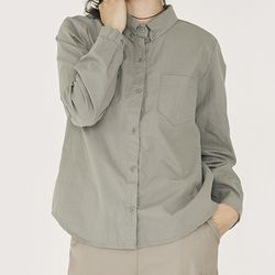 [top] 드라이 버튼다운 셔츠
