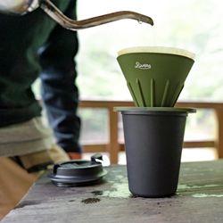 리버스 커피 드리퍼홀더 세트 - 올리브