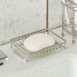 SUIT 스테인리스 욕실 와이어 비누받침