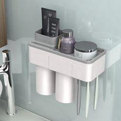 무타공  멀티 칫솔꽂이 외 욕실선반 모음전