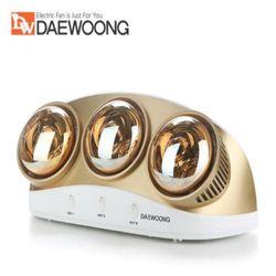 대웅모닝컴 전기난로 욕실난방기 벽걸이전기히터 DWH-BR3000