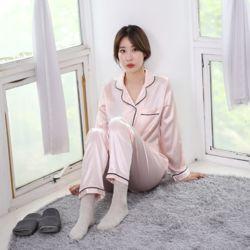 러브핑코 유달링 핑크 긴바지 잠옷 파자마 홈웨어 세