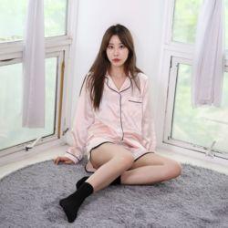 러브핑코 유달링 핑크 반바지 잠옷 파자마 홈웨어 세