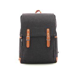 베이직 컨버스 백팩 학생가방 (블랙) 학생백팩