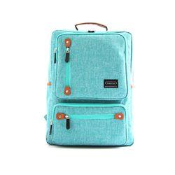 베이직 포켓 백팩 학생가방 (민트) 학생백팩