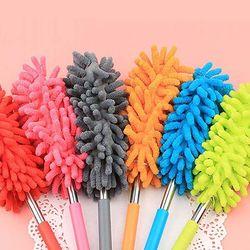 먼지털이 길이조절 청소브러쉬 3개 1set (색상랜덤)