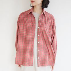 cozy check nature shirts