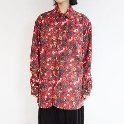 vintage flower corduroy shirts (3colors)