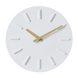 오픈 라운드인덱스벽시계(베이지)