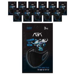 아리아 연예인 핏 마스크 3매입 X 12BOX