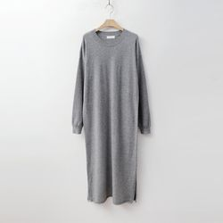 Round Long Knit Dress