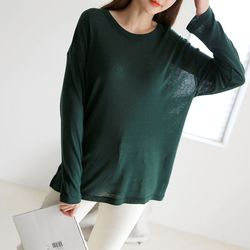 Wool Tencel Tee - New