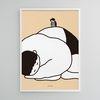 쑥쑥 자란다 M 유니크 인테리어 디자인 포스터  A3(중형)