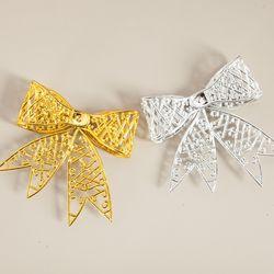 입체 리본 11cm (2PCS) 크리스마스 트리 장식 TRMBLS