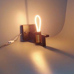 포커스 ST64 LED 네온 디자인 램프 LED 3w 전구색