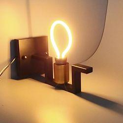 포커스 G80 LED 네온 디자인 램프 LED 3w 전구색 밴딩