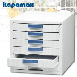 카파맥스 6단 멀티서류함 K99102/KEY서류함
