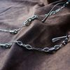 Triple link unit glasses chain