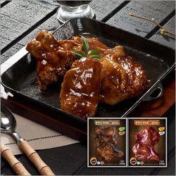 춘천식 직화 닭다리 고추장 6팩+간장 6팩(각 200g)
