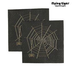 할로윈 스파이더 거미줄 냅킨(10pcs) 3017923