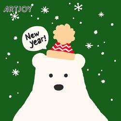 아트조이 DIY 명화그리기 북극곰 20x20cm