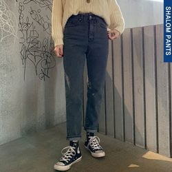 108standard denim pants (s m l)