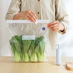 음식물 식재료 신선보관 재사용 Moms 위생 진공지퍼팩