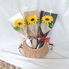 비누꽃 해바라기 1송이 꽃다발 한송이꽃
