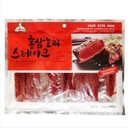 뉴트리오 홍삼 스테이크 400g 강아지간식강아지육포