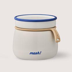 [런치스푼증정] [MOSH] 모슈 보온보냉 라떼 죽통푸드자 350  화이트