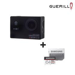 S 게릴라 액션캠 프로8000 + PROENDURACE 64GB