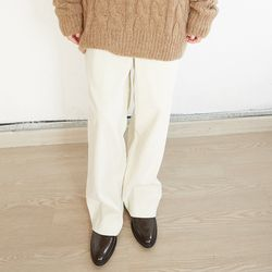 corduroy straight pants (3colors)