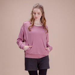 DURAN 루즈핏 긴팔 티셔츠 DAW-TL5029 핑크