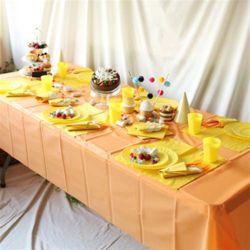 파티테이블셋팅패키지(6인용)- 오렌지&옐로우