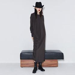 [dress] 사이드 스트랩 드레스