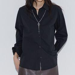 [top] 커프스 커버 셔츠